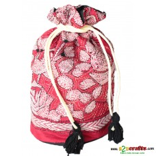 Kantha switched Bag or Botua