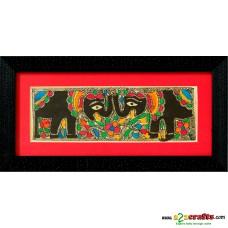 Madhubani, hand painting, Elephant