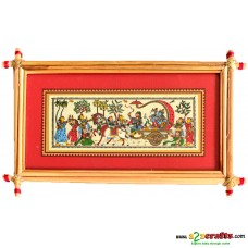 Talapatrachitra - Krishna on Rath, red
