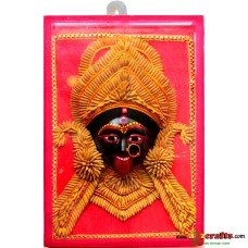 Paddy wall hanging - Maa Kali