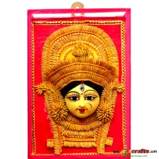 Paddy wall hanging - Durga