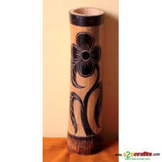 Bamboo Fower vase, Eco friendly, Natural