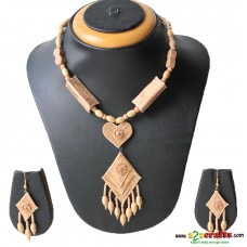 Ecofriendly , Natural, Bamboo Jewelry - exclusive 3 pc set
