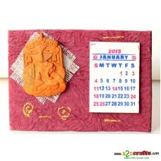 Calender 2015, Durga- Ganesha
