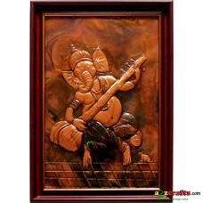 Copper Repousse -Ganesha