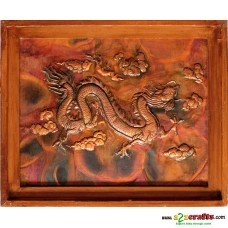 Copper Repousse Big - Dragon