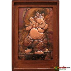 Copper Repousse Big - Ganesha