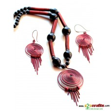 Copper Jewelry set