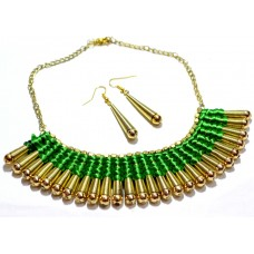 Costume jewelry 3pc set , Green