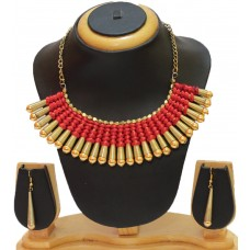 Costume jewelry 3pc set , Red