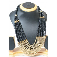 Costume jewelry 3pc set , BLACK