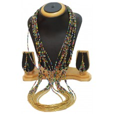 Costume jewelry necklace set,