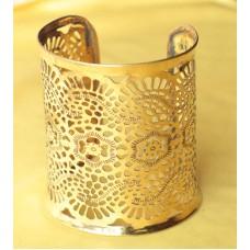 Minakari bangles - golden