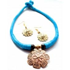 Dokra Jewellery set ,original,