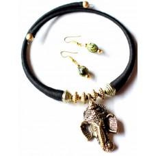 Dokra Jewellery set , (artificial)