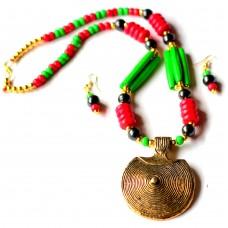 Dokra (Artificial) necklace set
