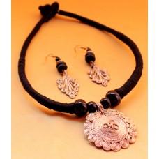 Dokra Jewellery set ,original, BLACK