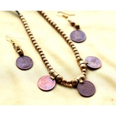 Currency (Turkish) Necklace set