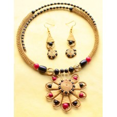 Dokra jewelry set. Exclusive design