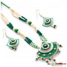 Jute & Paddy Jewelry - green