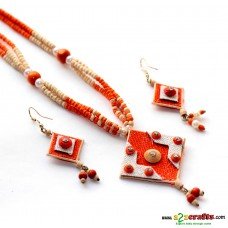 Jute & Paddy Jewelry - orange