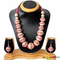 Jute Jewelry, red