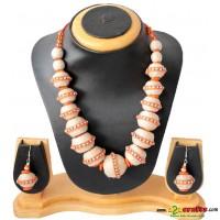 Jute Jewelry, Orange