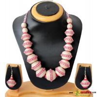 Jute Jewelry, Pink