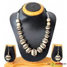 Jute Jewelry, Black