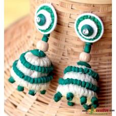 Jute earring