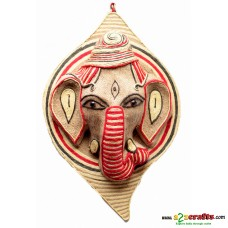 Eco friendly, Natural, Ganesha Jute wall hanging