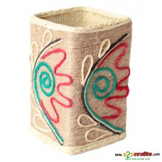 Eco friendly, Natural, Jute pen stand