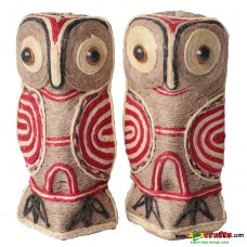 Eco friendly, Natural, Jute Owl, 16 cm
