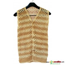 Exclusive Eco friendly Trendy Jute Jacket