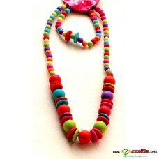 Kids jewelry 3- bright colorful elegant with bracelet and earrings