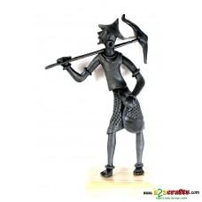 metal statues -- farmer