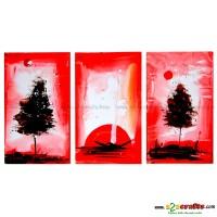 Sun - Set of 3 painting
