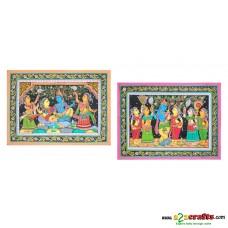 Madhuboni Hand painting, unframed,