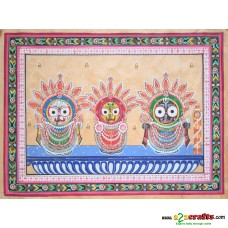 jagannath Hand painting, unframed,