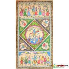 Krishnalila Hand painting, unframed,