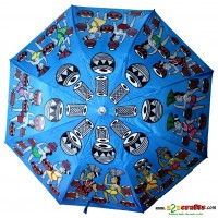 Patachitra Umbrella blue