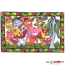 Patachitra Painting, Tribal art