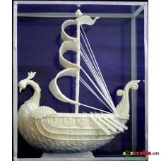 Shola pith craft - Sail boat