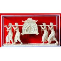 Shola pith craft - Palanquin (Palki)