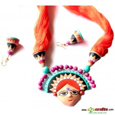 Exclusive Terracotta Jewelry , Orange