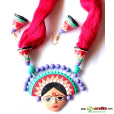 Exclusive Terracotta Jewelry , Red