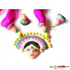 Exclusive Terracotta Jewelry ,Pink