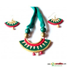 Exclusive Terracotta Jewelry ,green