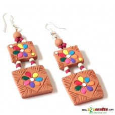 Terracotta Earrings