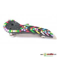 Terracotta Hair clip